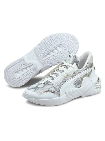 """Puma Buty """"Provoke XT"""" w kolorze biało-szarym do biegania"""