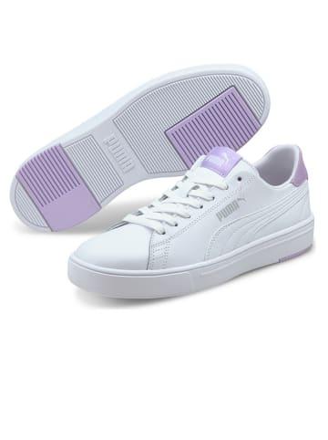 "Puma Shoes Sneakers ""Serve Pro Lite"" in Weiß/ Lila"