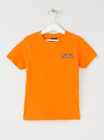 Nasa Shirt oranje