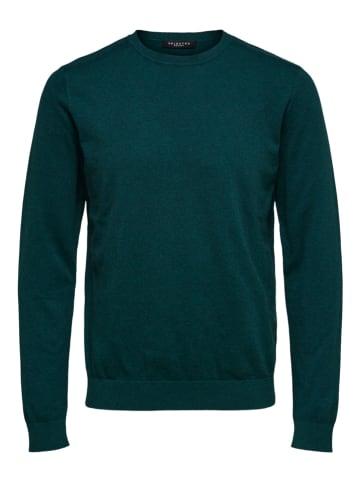 "SELECTED HOMME Sweatshirt ""Berg"" in Grün"