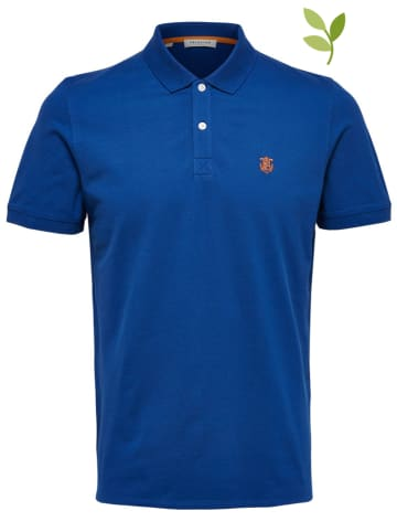 """SELECTED HOMME Poloshirt """"Aro"""" in Blau"""