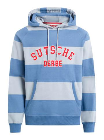 Derbe Sweatshirt blauw/lichtgrijs