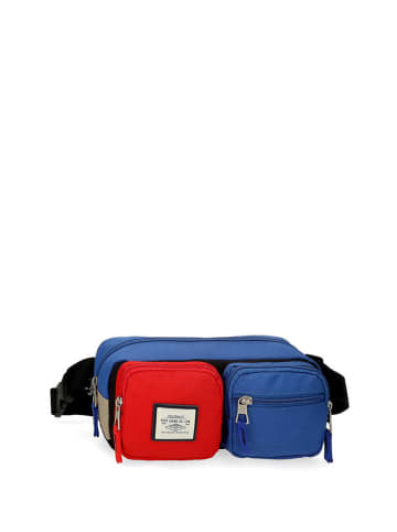 Pepe Jeans Saszetka w kolorze niebiesko-czerwonym - (S)27 x (W)12 x (G)8 cm