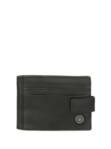 Pepe Jeans Skórzane etui w kolorze czarnym - (S)10 x (W)8 x (G)0,5 cm