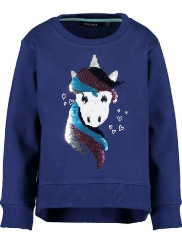 Blue Seven Sweatshirt donkerblauw