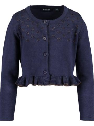 Blue Seven Vest donkerblauw