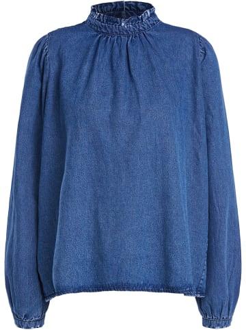 Set Bluse in Blau
