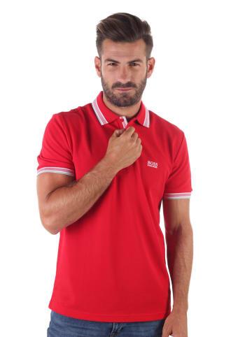 Hugo Boss Koszulka polo w kolorze czerwonym