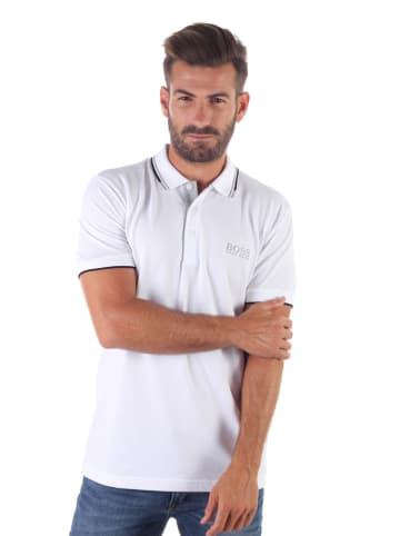 Hugo Boss Koszulka polo w kolorze białym