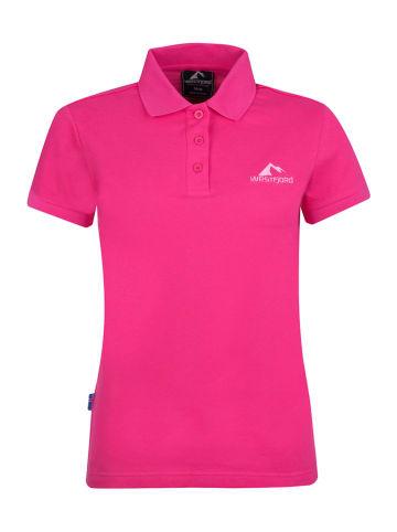 """Westfjord Koszulka polo """"Hekla"""" w kolorze różowym"""