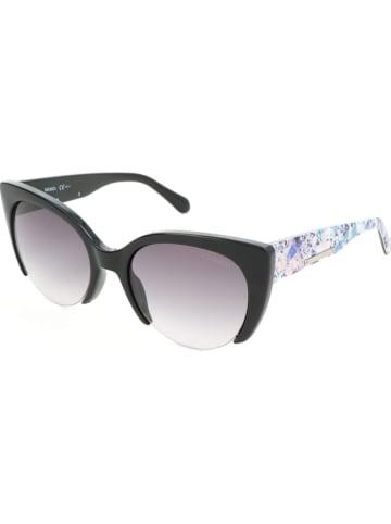 Max Mara Dameszonnebril zwart-meerkleurig/grijs
