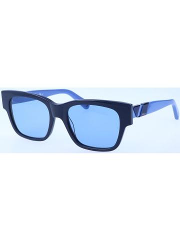 Max Mara Dameszonnebril donkerblauw/blauw