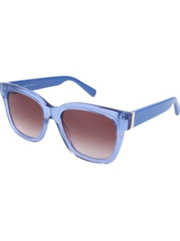 Max Mara Dameszonnebril blauw/bruin