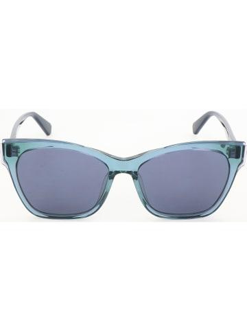 MAX & CO Damskie okulary przeciwsłoneczne w kolorze niebieskim