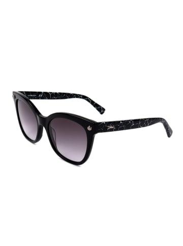 Longchamp Damskie okulary przeciwsłoneczne w kolorze czarno-fioletowym