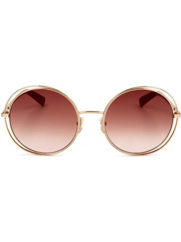 Longchamp Damskie okulary przeciwsłoneczne w kolorze czerwono-złotym