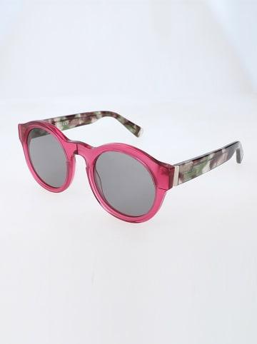 Max&Co Damskie okulary przeciwsłoneczne w kolorze szaro-czerwono-zielonym