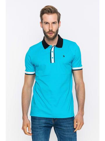 GIORGIO DI MARE Poloshirt turquoise