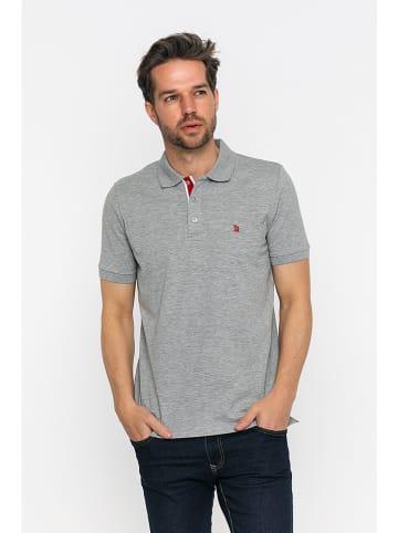 GIORGIO DI MARE Koszulka polo w kolorze szarym