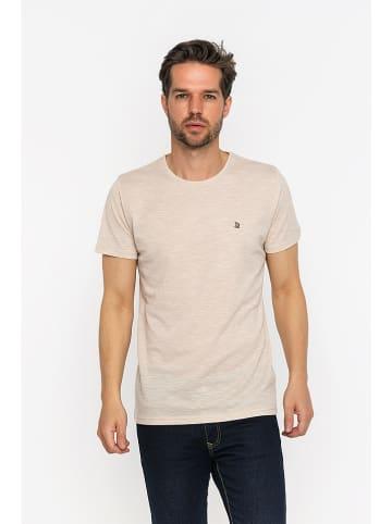 GIORGIO DI MARE Koszulka w kolorze beżowym