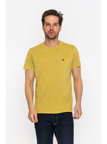 GIORGIO DI MARE Koszulka w kolorze żółtym