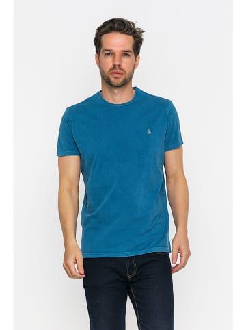 GIORGIO DI MARE Koszulka w kolorze niebieskim