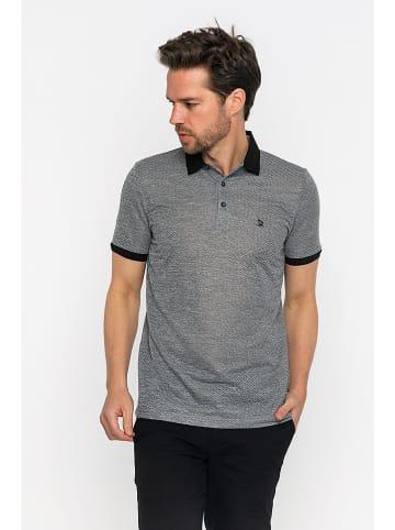 GIORGIO DI MARE Koszulka polo w kolorze czarnym