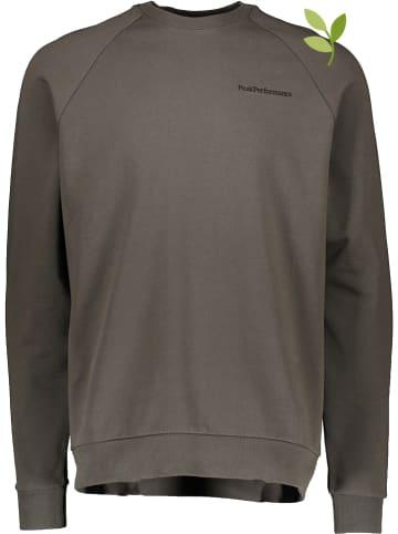 "Peak Performance Bluza ""Moment"" w kolorze khaki"