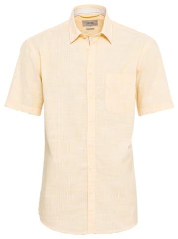 Camel Active Koszula - Regular fit - w kolorze żółtym
