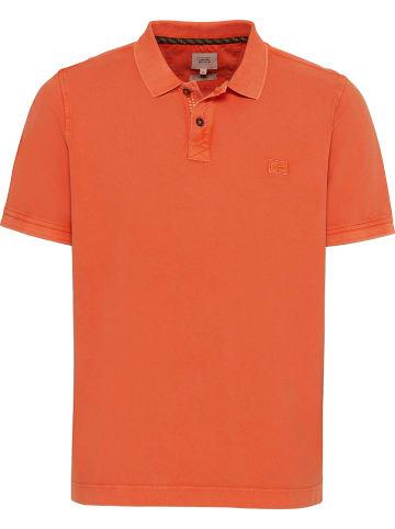 Camel Active Koszulka polo w kolorze pomarańczowym
