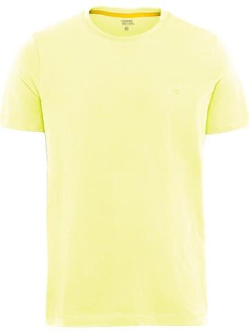 Camel Active Koszulka w kolorze żółtym