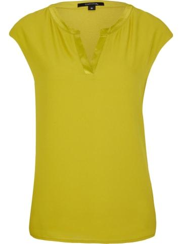 Comma Shirt in Gelb