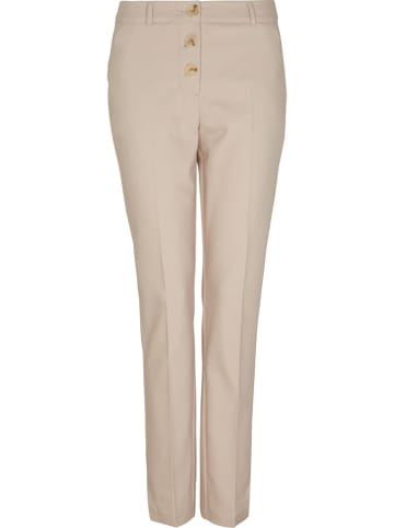Comma Spodnie w kolorze beżowym