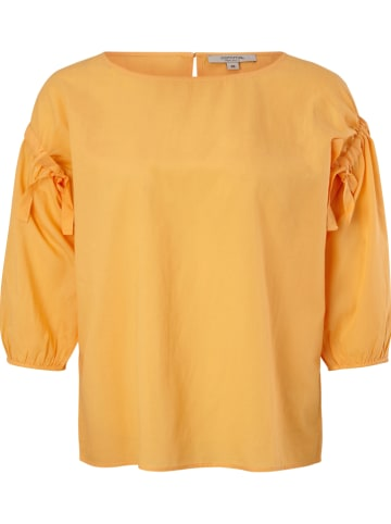 Comma Bluse in Gelb