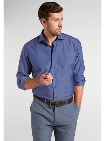 Eterna Blouse - modern fit - donkerblauw