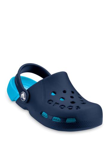 """Crocs Chodaki """"Electro"""" w kolorze granatowo-niebieskim"""
