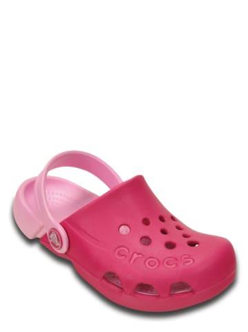 """Crocs Chodaki """"Electro"""" w kolorze różowym"""