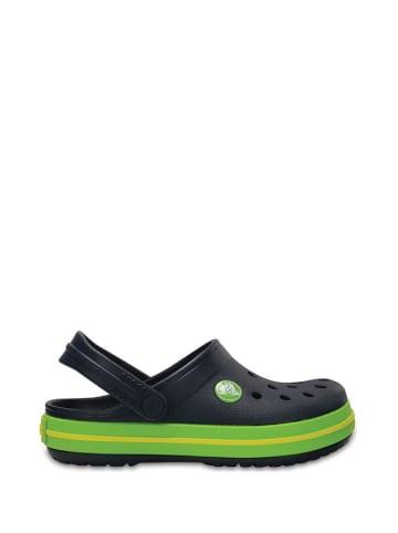 """Crocs Chodaki """"Clog K"""" w kolorze granatowo-zielonym"""