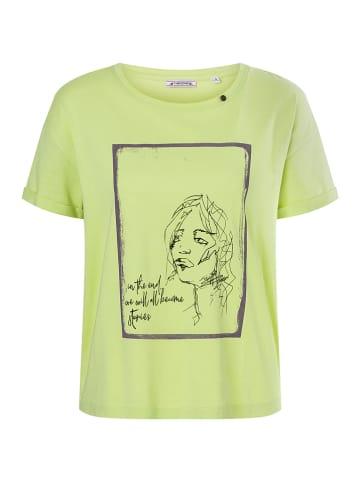 Timezone Shirt in Grün
