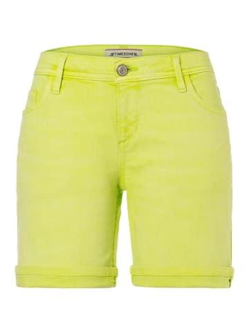 """Timezone Szorty dżinsowe """"Alexa"""" - Regular fit - w kolorze żółtym"""