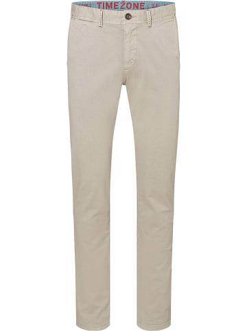 """Timezone Spodnie chino """"Spencer"""" - Regular fit - w kolorze beżowym"""