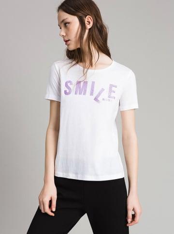 Twinset T-shirt w kolorze białym