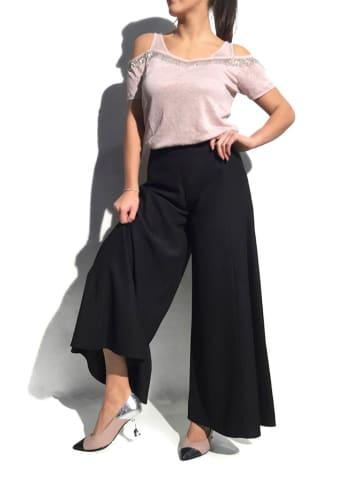 Twinset Spodnie w kolorze czarnym