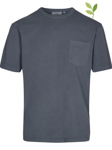 """Minimum Shirt """"Haris"""" donkerblauw"""