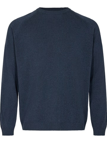 "Minimum Sweter ""Stean"" w kolorze granatowym"