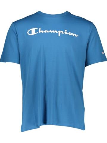 Champion Shirt in Blau