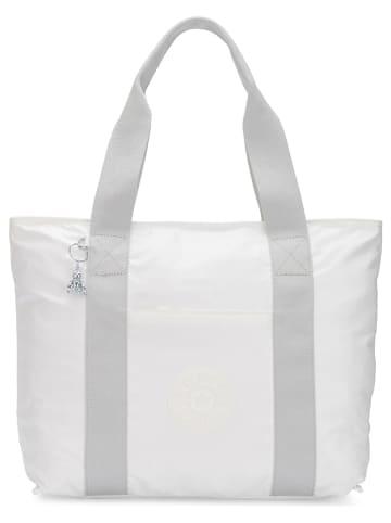 """Kipling Shopper bag """"Era"""" w kolorze białym - 49 x 35 x 20 cm"""