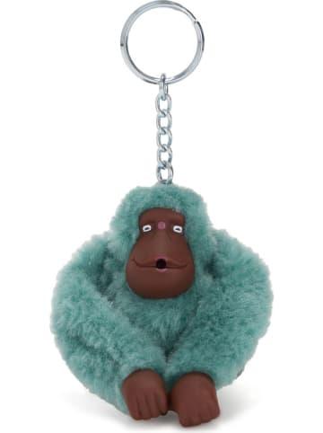 """Kipling Schlüsselanhänger """"Monkeyclip"""" in Türkis - (B)5 x (H)7 x (T)4,5 cm"""