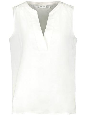 Gerry Weber Lniana bluzka w kolorze białym