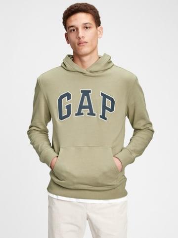 GAP Bluza w kolorze oliwkowym